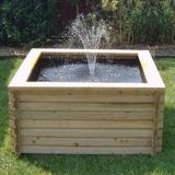 Norlog 120 Gallon Square Raised Pond