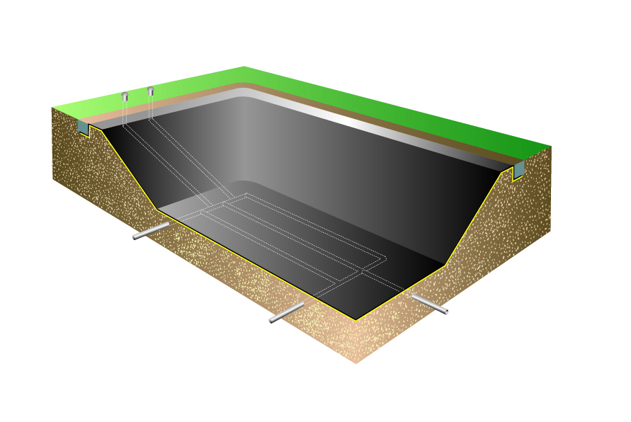 Pond lake drainage in the uk from aqualiners direct for Pond drain design